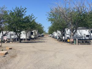 RV sites near the park entrance (phase 1)